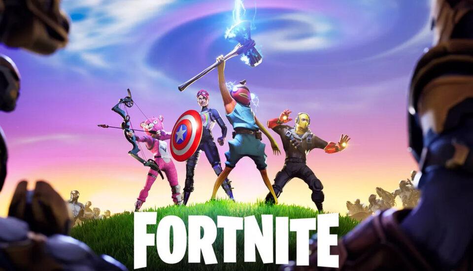 Personagens de jogo online fortnite